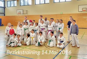 Bezirkstraining 14.05.2016